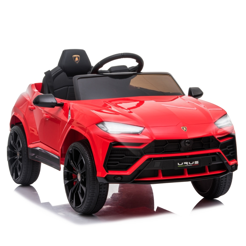 HOMCOM Lamborghini Urus 12V Kids Electric Ride On Car Toy w/ Remote Control