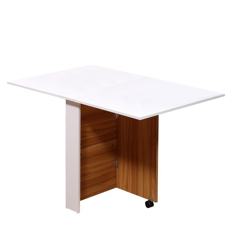 klaptafel mobiele tafel met wielen bureau bijzettafel Bureau