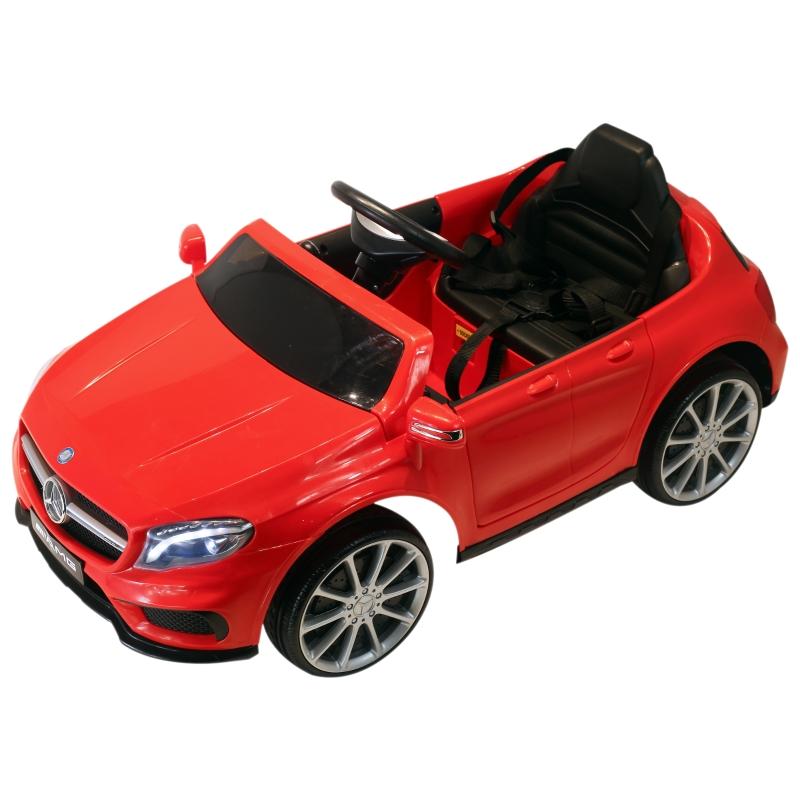 Kinderauto elektrische auto 1 motor afstandsbediening muziek Mercedes kinderspeelgoedvoertuig