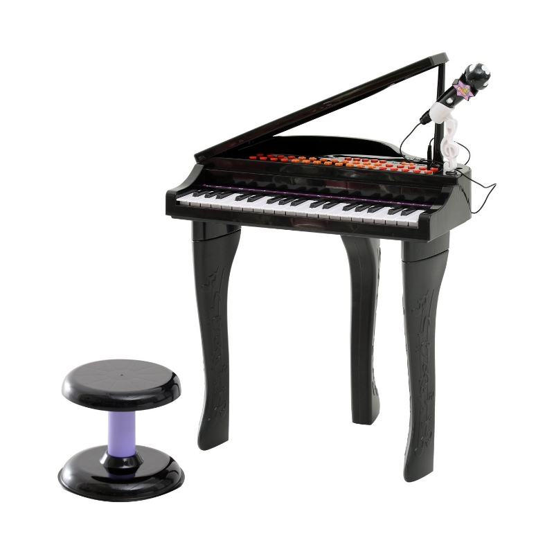 Kinderpiano piano keyboard muziekinstrument MP3 USB 37 toetsen met kruk