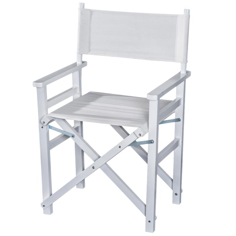 regisseursstoel tuinstoel klapstoel stoel landelijke stoel fauteuil 2 kleuren