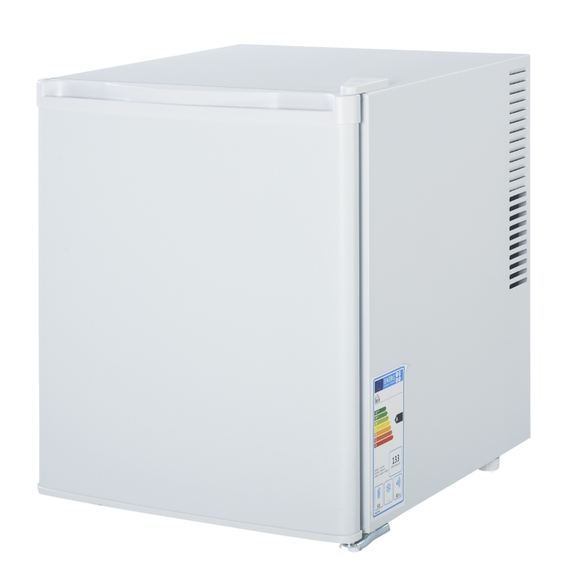 HOMCOM Freestanding Beverage Fridge and Cooler Hold up to 40 Can Soda Cola Home White