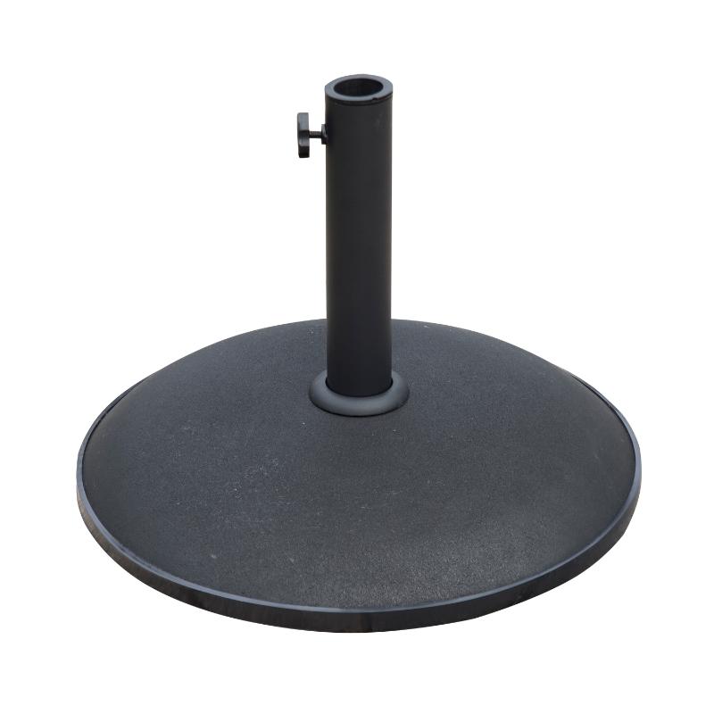 Outsunny 25kg Round Umbrella Base-Black