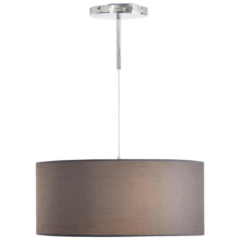 HOMCOM LED Pendant Light Three Lighting Modes Metal Base for Home Office Grey