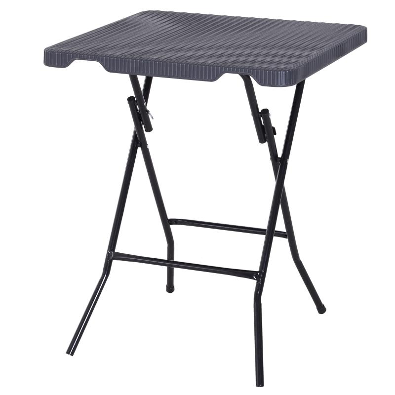 Klaptafel inklapbare tafel tuintafel balkontafel picknicktafel campingtafel 60x60 cm