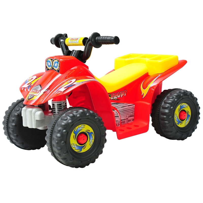 Elektroquad kinderquad elektrische kinderauto elektrische motor motorfiets rood