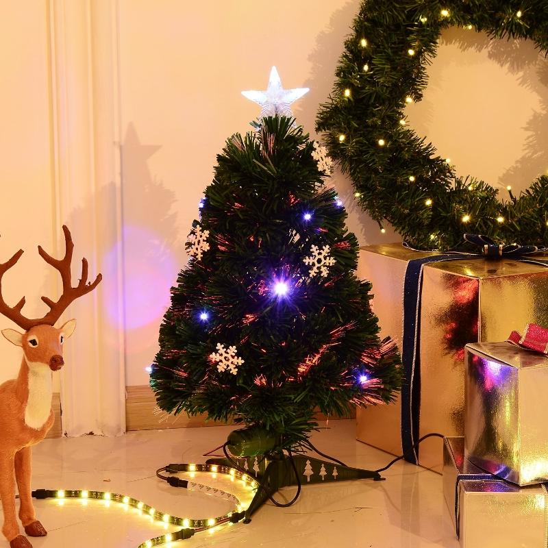 HOMCOM® Künstlicher Weihnachtsbaum   Tannenbaum   Ø25 x 60 cm   Grün