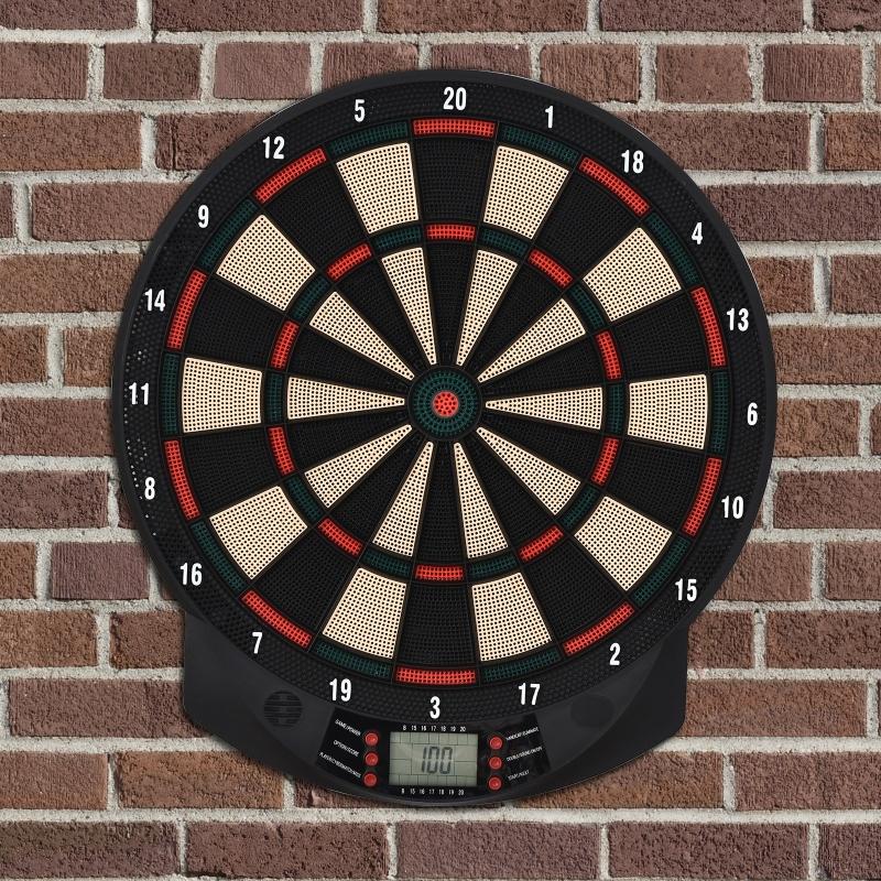 Elektroniczna tarcza do darta Tablica do darta Zestaw do darta z 6 rzutkami 8 graczy
