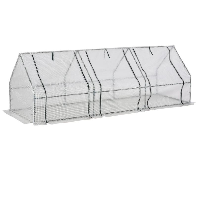 Szklarnia z okienkiem szklarnia do pomidorów cieplarnia skrzynia inspektowa