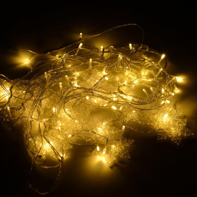 HOMCOM LAMPKI CHOINKOWE ZEWNĘTRZNE LED