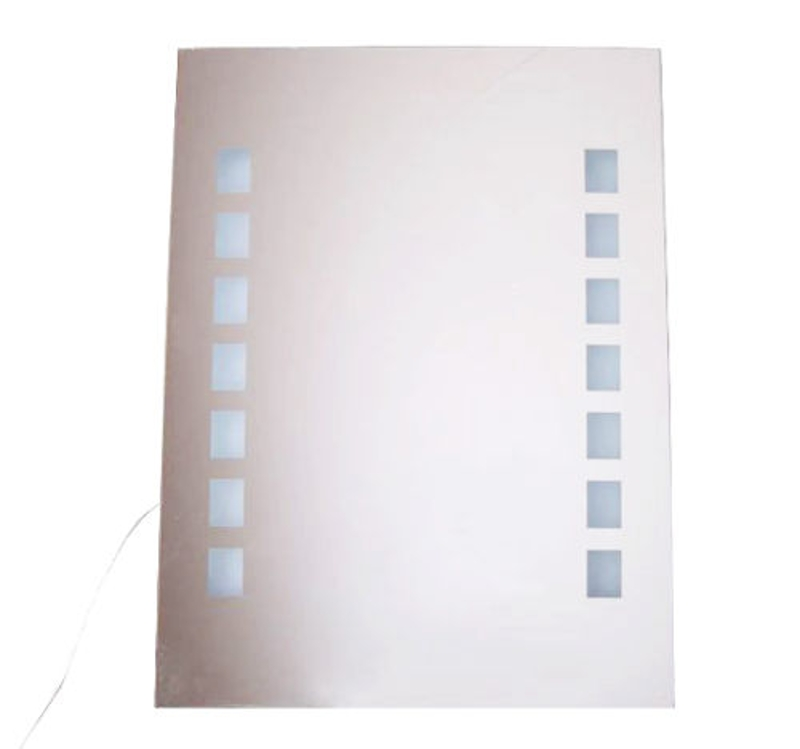 HOMCOM LUSTRO ŁAZIENKOWE LED IP44 60x80 cm