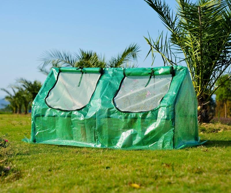 Tunel foliowy ogrodowy szklarnia 1,2x0,6x0,6m zielony Outsunny
