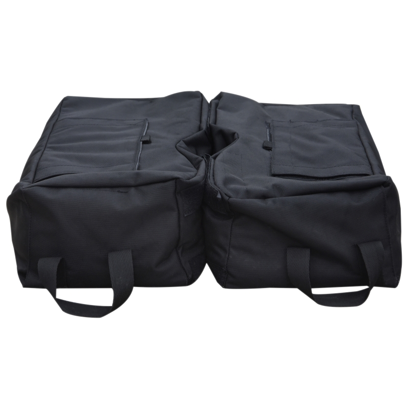 2 worki torby na piasek do stojaka parasola słonecznego do napełniania 100 kg z łopatką 50 x 50 x 18 cm Outsunny