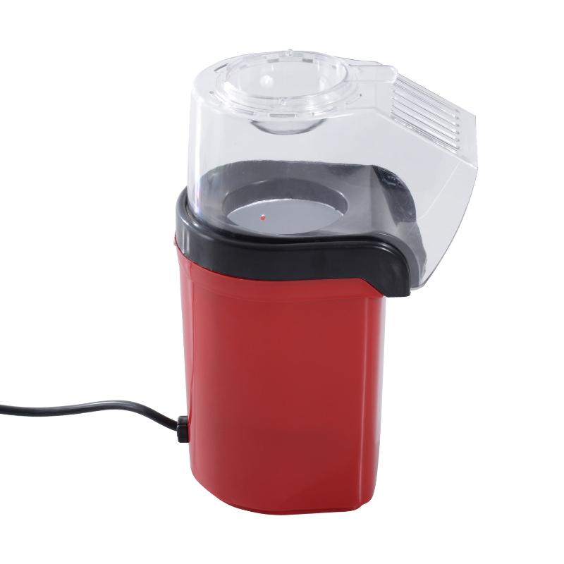 Homcom Urządzenie Maszynka Do Popcornu czerwona