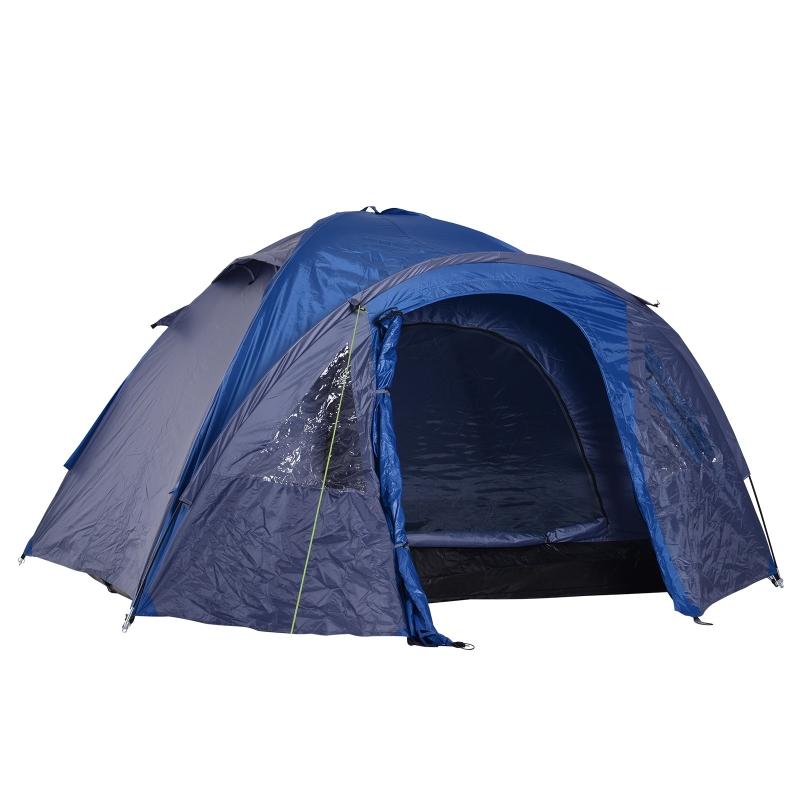 Namiot rodzinny z podwójną ścianką outdoor igloo dla 4 osób Outsunny