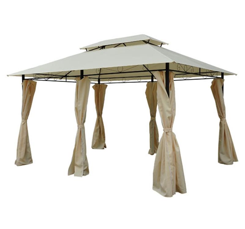 pawilon ogrodowy namiot imprezowy pawilon namiot ogrodowy namiot festynowy podwójny daszek 3x4 m