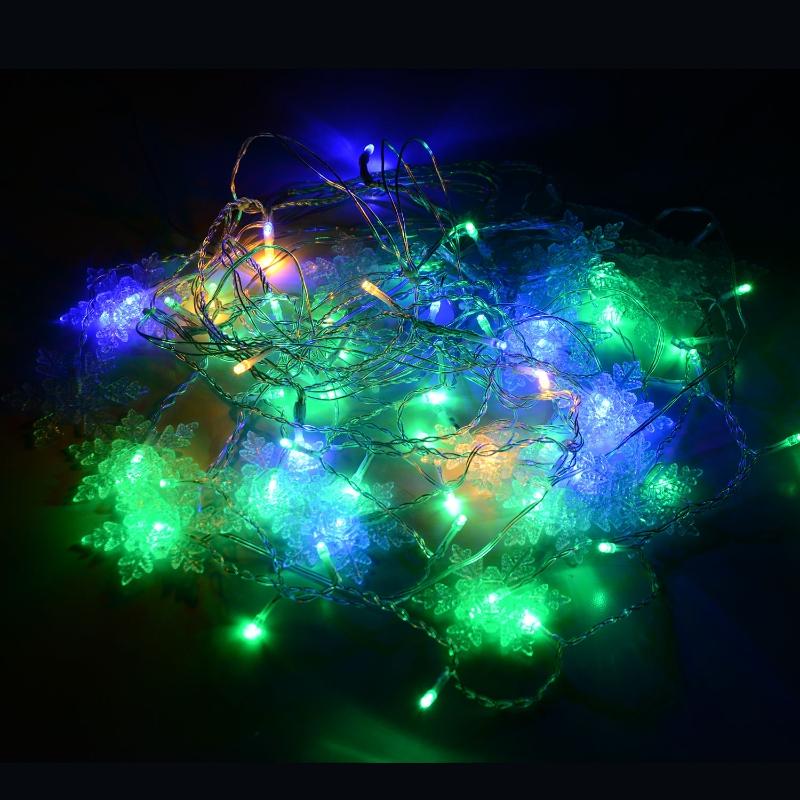 HOMCOM LAMPKI CHOINKOWE ZEWNĘTRZNE KOLOROWE LED