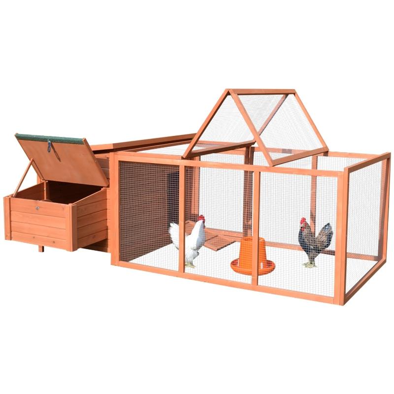 Kurnik Domek dla kur Pomieszczenie dla drobiu Klatka dla małych zwierząt z budką lęgową skrzynia na jajka