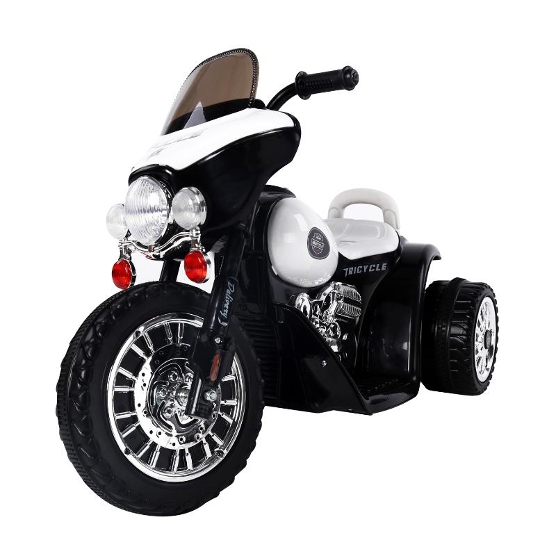HOMCOM MOTOR ELEKTRYCZNY MOTOREK czarno-biały