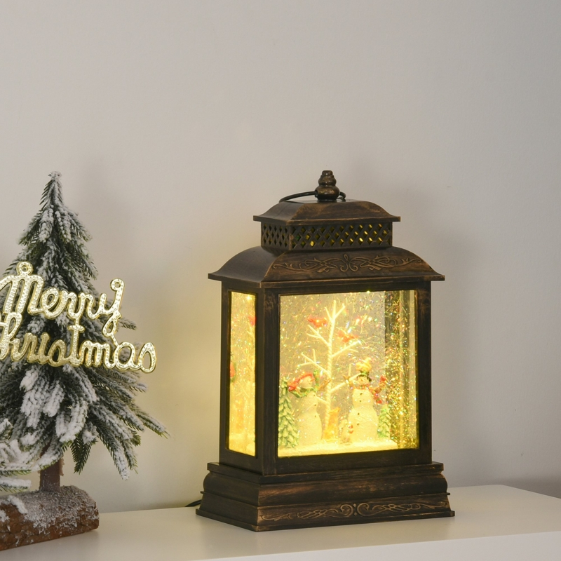 Lampion szklana kula lampion z muzyką duży HOMCOM