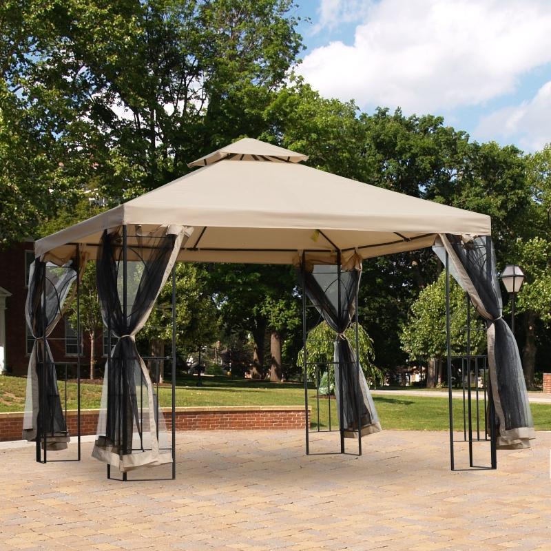 altana ogrodowa pawilon namiot imprezowy namiot okolicznościowy namiot ogrodowy z 4 półkami 3 x 3 m