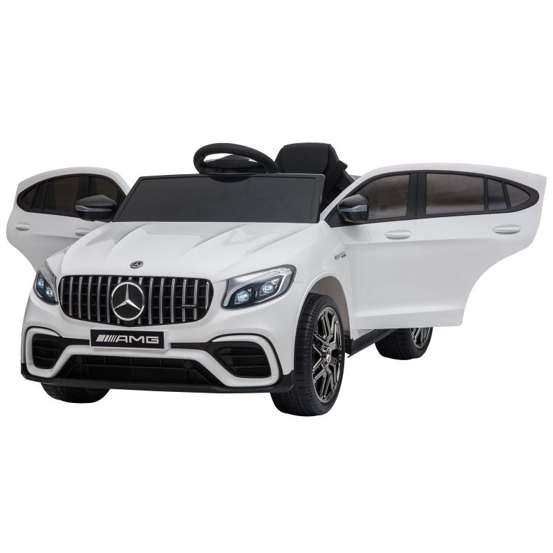 Pojazd dla dzieci z pilotem Samochód elektryczny Mercedes-Benz MP3 wiek 3–8 lat 2 kolory