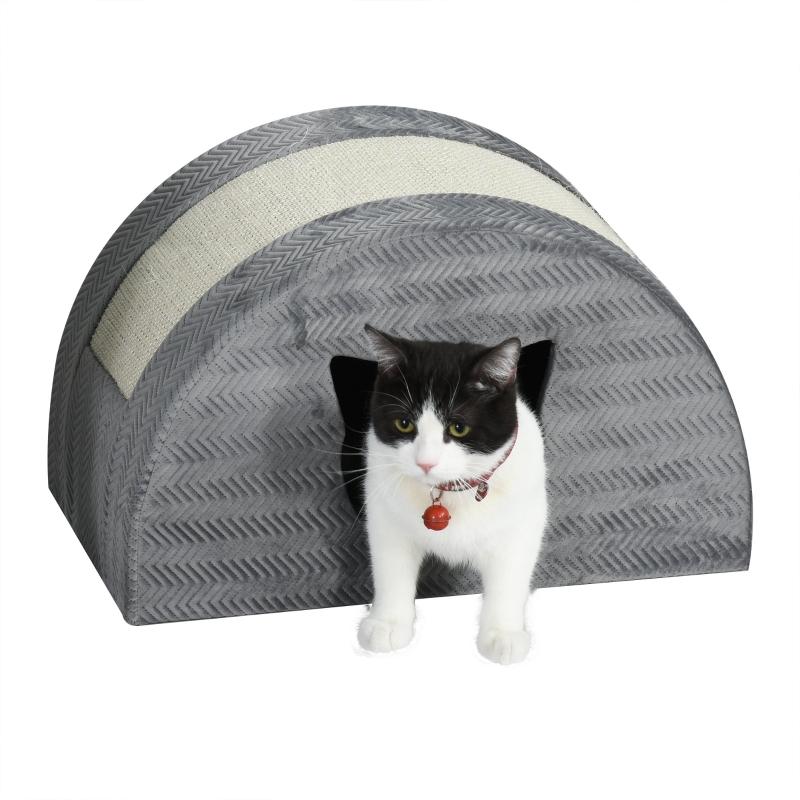Jaskinia dla kota z deską do drapania Legowisko dla kota Domek do drapania Domek dla kota Domek dla kotów sizal