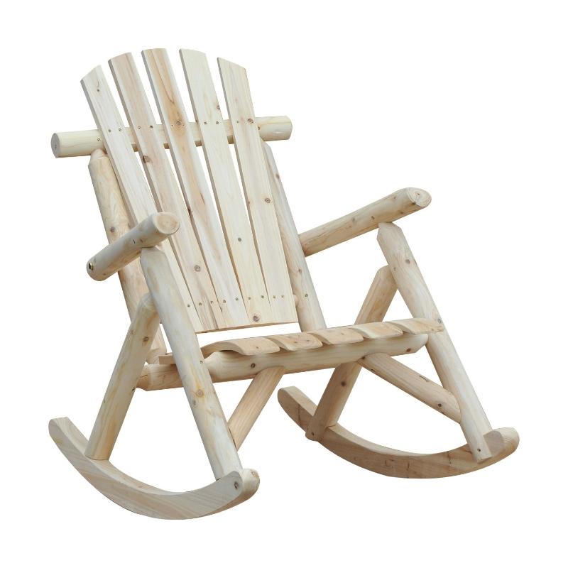 Schommelstoel schommelzetel schommel stoel relaxstoel vurenhout natuur
