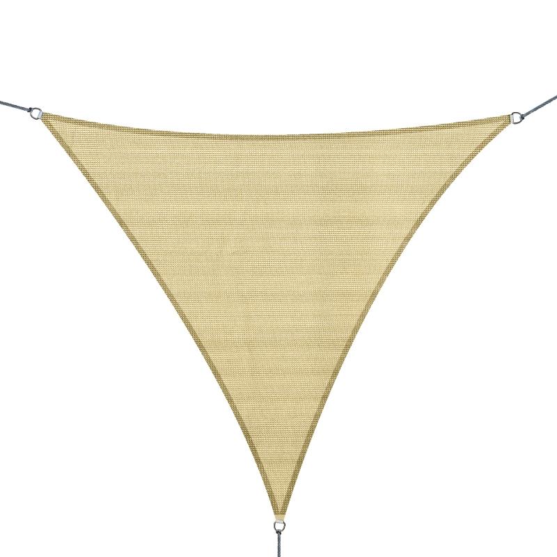 Outsunny 3m Sun Shade Sail-Light Sand