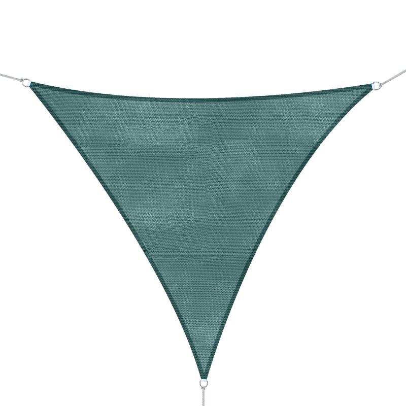 Outsunny Triangle 3m Sun Shade-Green