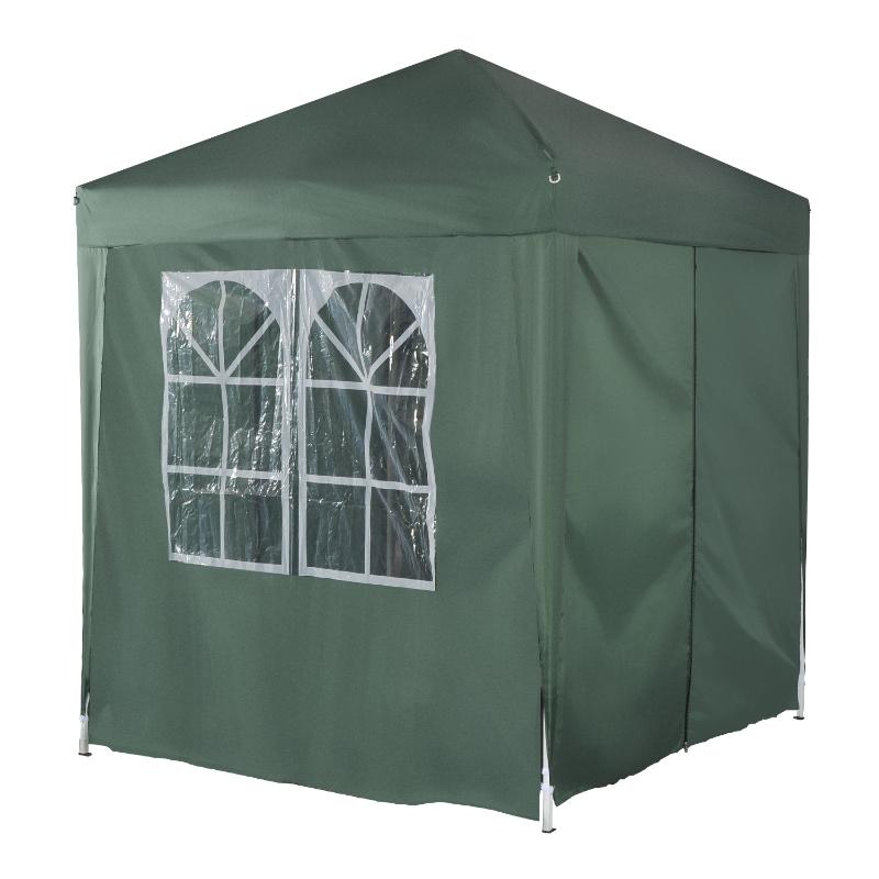 Outsunny Pop-Up Gazebo Canopy, 2x2 m-Green