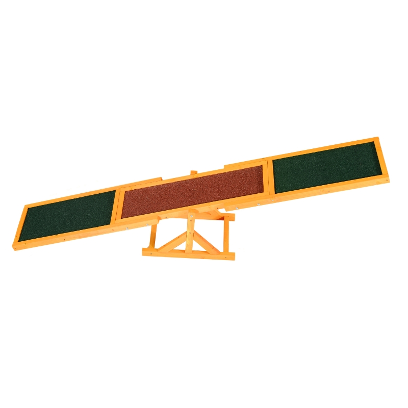 Pawhut Pet Obedience Training Seesaw For Dog Agility