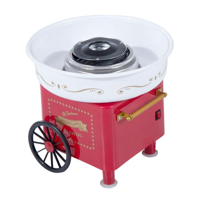 HOMCOM Electric Candy Floss Machine, 450W-Red