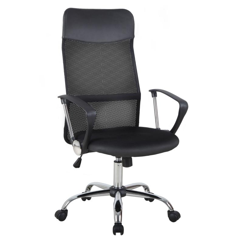 HOMCOM Swivel Executive Mesh Office Chair-Black