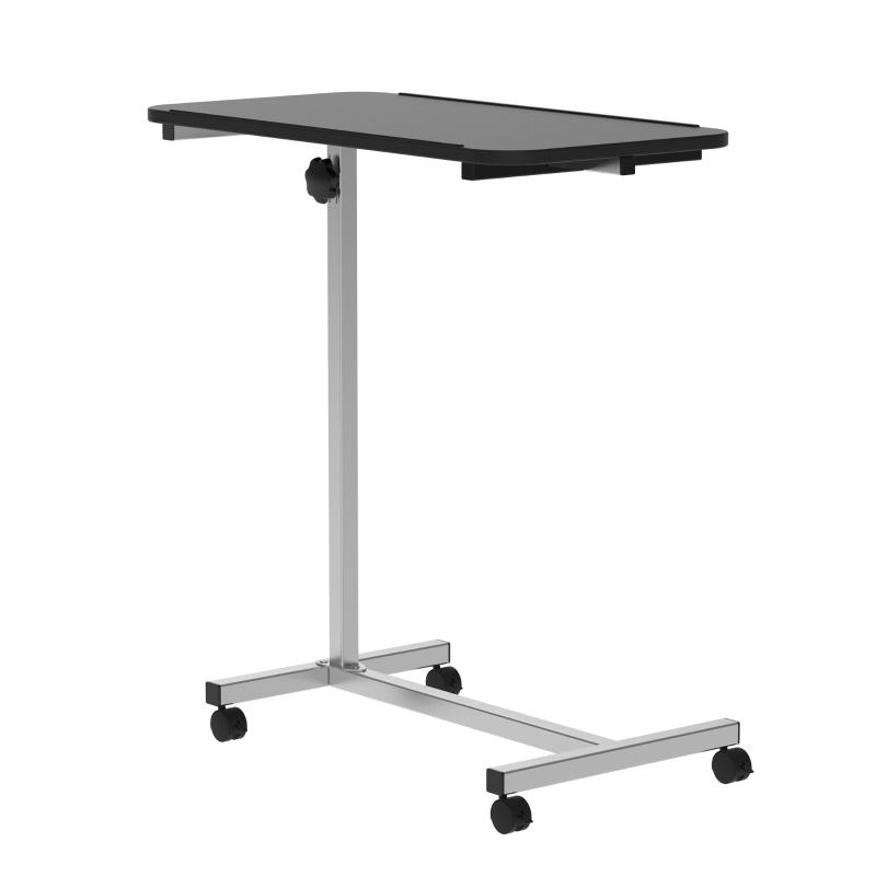 HOMCOM MDF Height Adjustable Sofa & Bed Table Black/White
