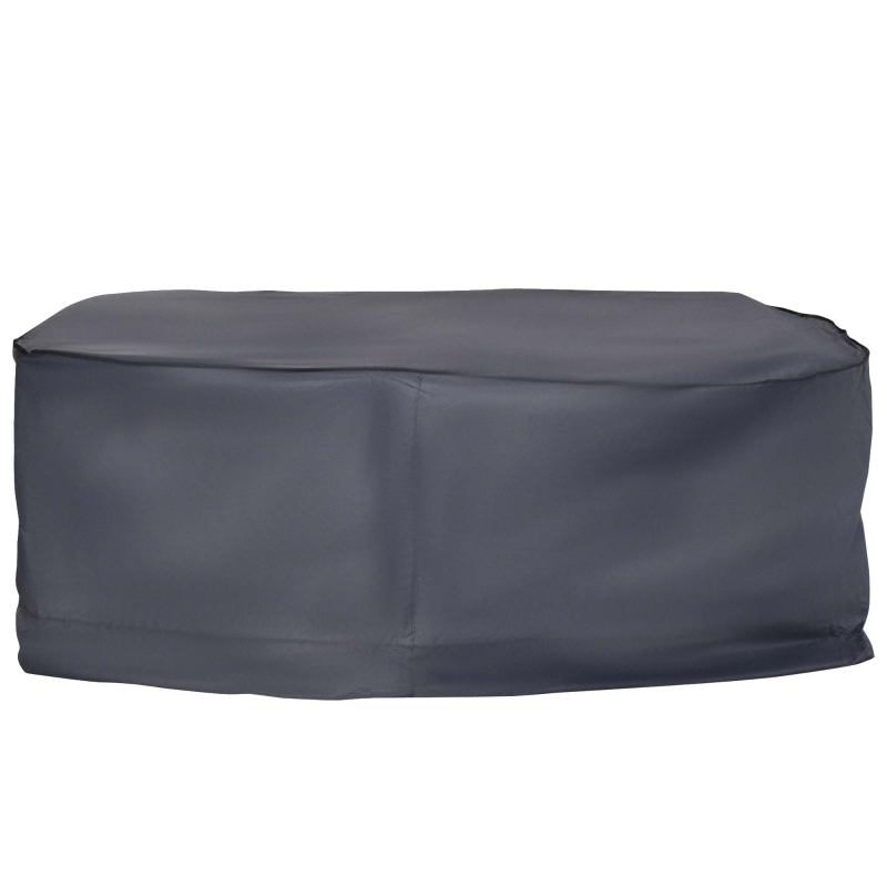 Outsunny 235Lx135Wx94H cm 2-3 Seater Sofa Waterproof Furniture Cover-Grey