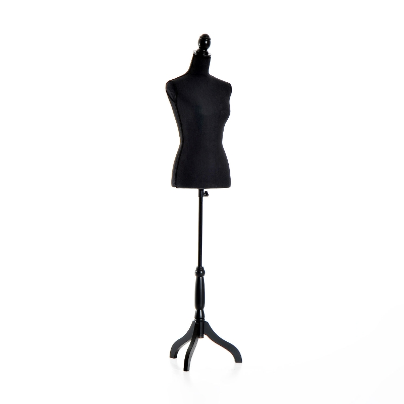 HOMCOM Female Mannequin Torso-Black