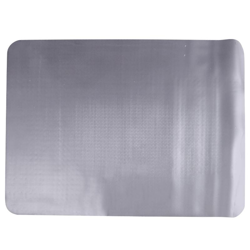 HOMCOM Alfombra Protectora para Silla de Oficina 90x120cm Protector Suelo Enmoquetado  (Cuadrilongo, Sin picos antideslizantes)