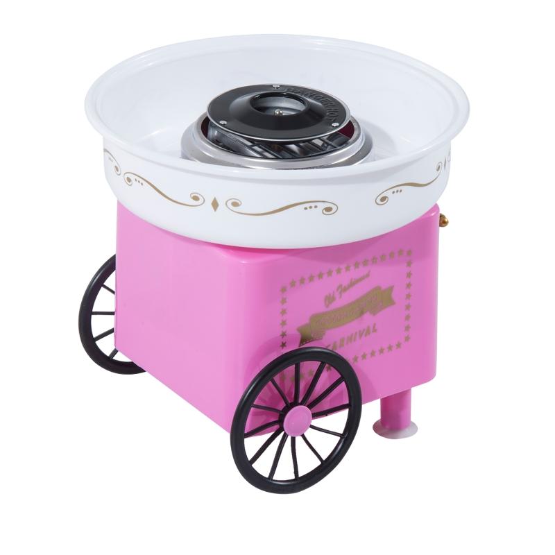 HOMCOM Electric Candy Floss Machine, 450W-Pink