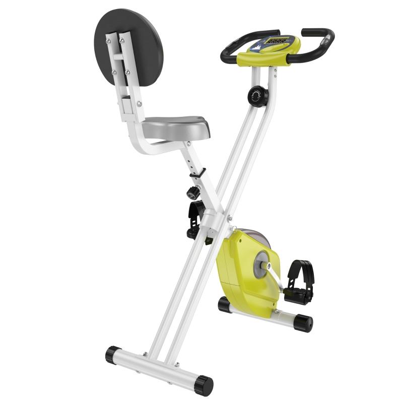 HOMCOM Rower treningowy Trenażer rowerowy z 8-stopniową regulacją oporu magnetycznego