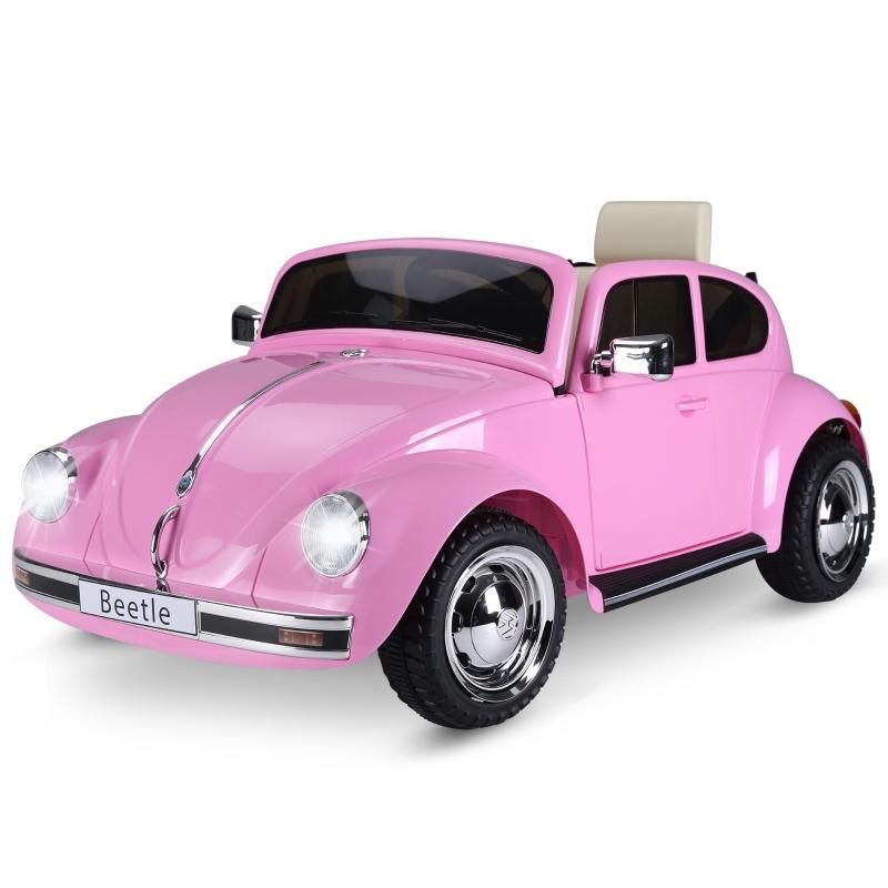 Samochód dziecięcy Volkswagen samochód elektryczny z MP3 światło muzyka HOMCOM®