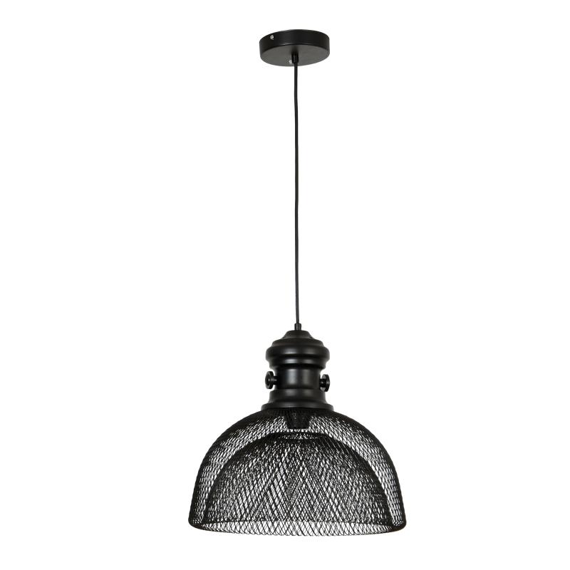 Lampa sufitowa Lampa wisząca Oprawa wisząca industrialna styl nowoczesny czarna