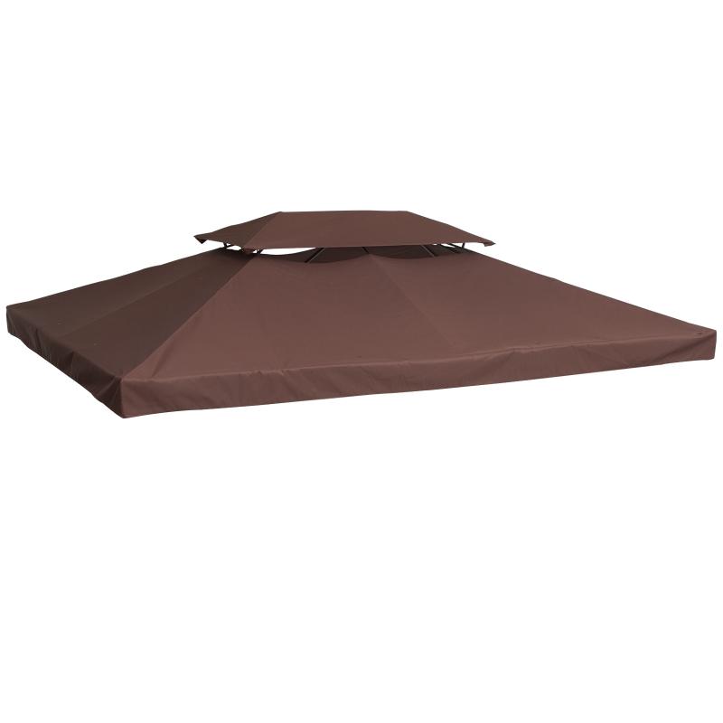 Poszycie zadaszenie dach na pawilon ogrodowy 3x3/3x4m Outsunny