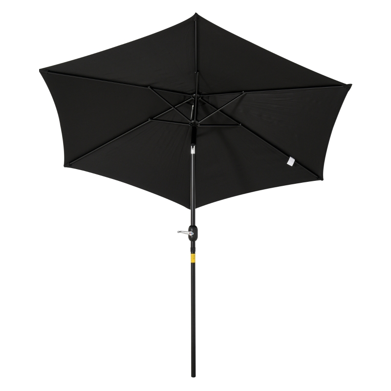 Parasol przegubowy parasol ogrodowy parasol stojący parasol plażowy z korbką ręczną aluminium 4 kolory
