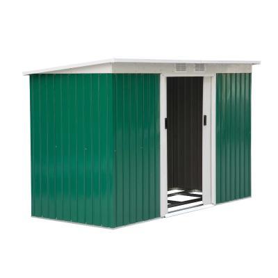 Outsunny Caseta de Jardín Tipo Cobertizo Metálico para Almacenamiento de Herramientas