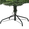 kunstkerstboom 1,8 m kerstboom dennenboom 1853 takken metalen voet PVC(m-11)