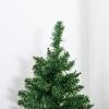 kerstboom voor op tafel 0,6 m kleine kerstboom 70 takken linnen PVC cement(m-8)