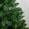 kerstboom voor op tafel 0,6 m kleine kerstboom 70 takken linnen PVC cement(m-10)