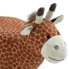 Dierenkruk decoratieve kruk gestoffeerde kruk met dierenmotief giraffe ottoman(m-8)