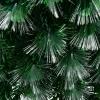 Kerstboom 1,8 m kerstboom 230 takken metalen voet meerkleurige lichteffecten(m-9)